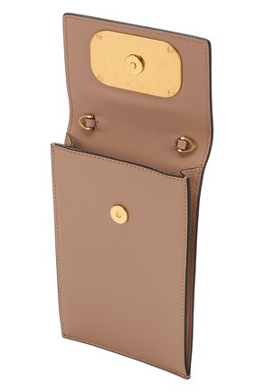 Мужского кожаный чехол для iphone valentino garavani VALENTINO бежевого цвета, арт. SW2P0S45/ZXL   Фото 3