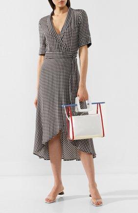 Женская сумка shirley STAUD кремвого цвета, арт. 07-9113 | Фото 2