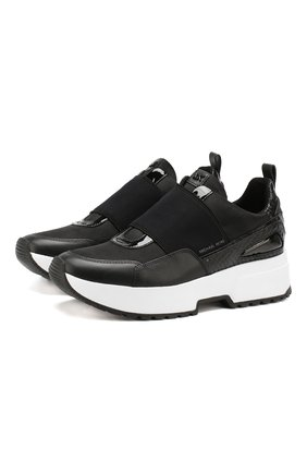 Комбинированные кроссовки Cosmo | Фото №1