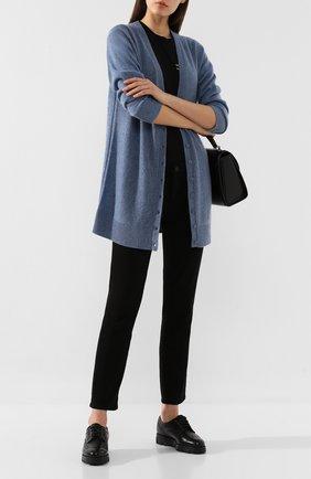 Женские кожаные броги SANTONI черного цвета, арт. WUUD56815SM0AHKTN01 | Фото 2