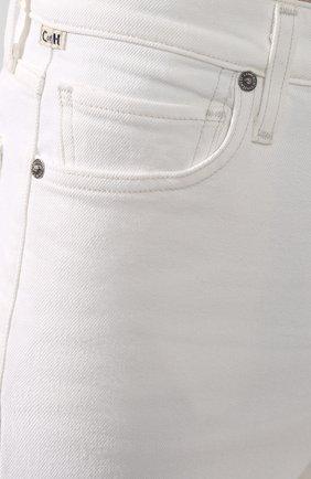Женские джинсы CITIZENS OF HUMANITY белого цвета, арт. 1728-3001 | Фото 5