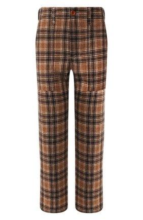 Женские брюки JEJIA коричневого цвета, арт. 2739J1P003 190762 | Фото 1