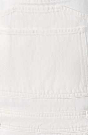 Женский джинсовый комбинезон CITIZENS OF HUMANITY белого цвета, арт. 1772-1114 | Фото 5