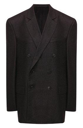 Женский шерстяной жакет BALENCIAGA серого цвета, арт. 583828/TFU06 | Фото 1