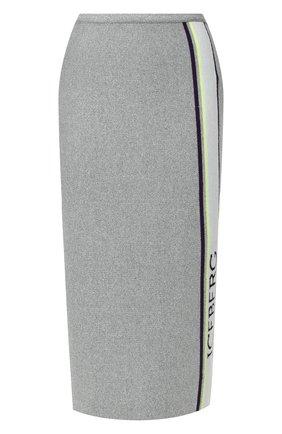 Юбка из смеси вискозы и шерсти | Фото №1