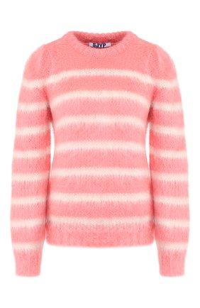 Женская свитер STEVE J & YONI P розового цвета, арт. PW1J7K-P0039W   Фото 1