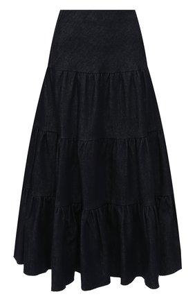 Женская джинсовая юбка CHLOÉ темно-синего цвета, арт. CHC19ADJ63155 | Фото 1