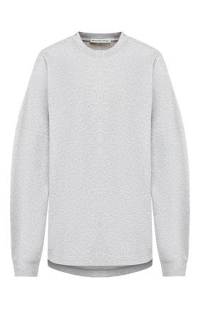 Женская хлопковый пуловер ALEXANDERWANG.T серого цвета, арт. 4CC2191024 | Фото 1