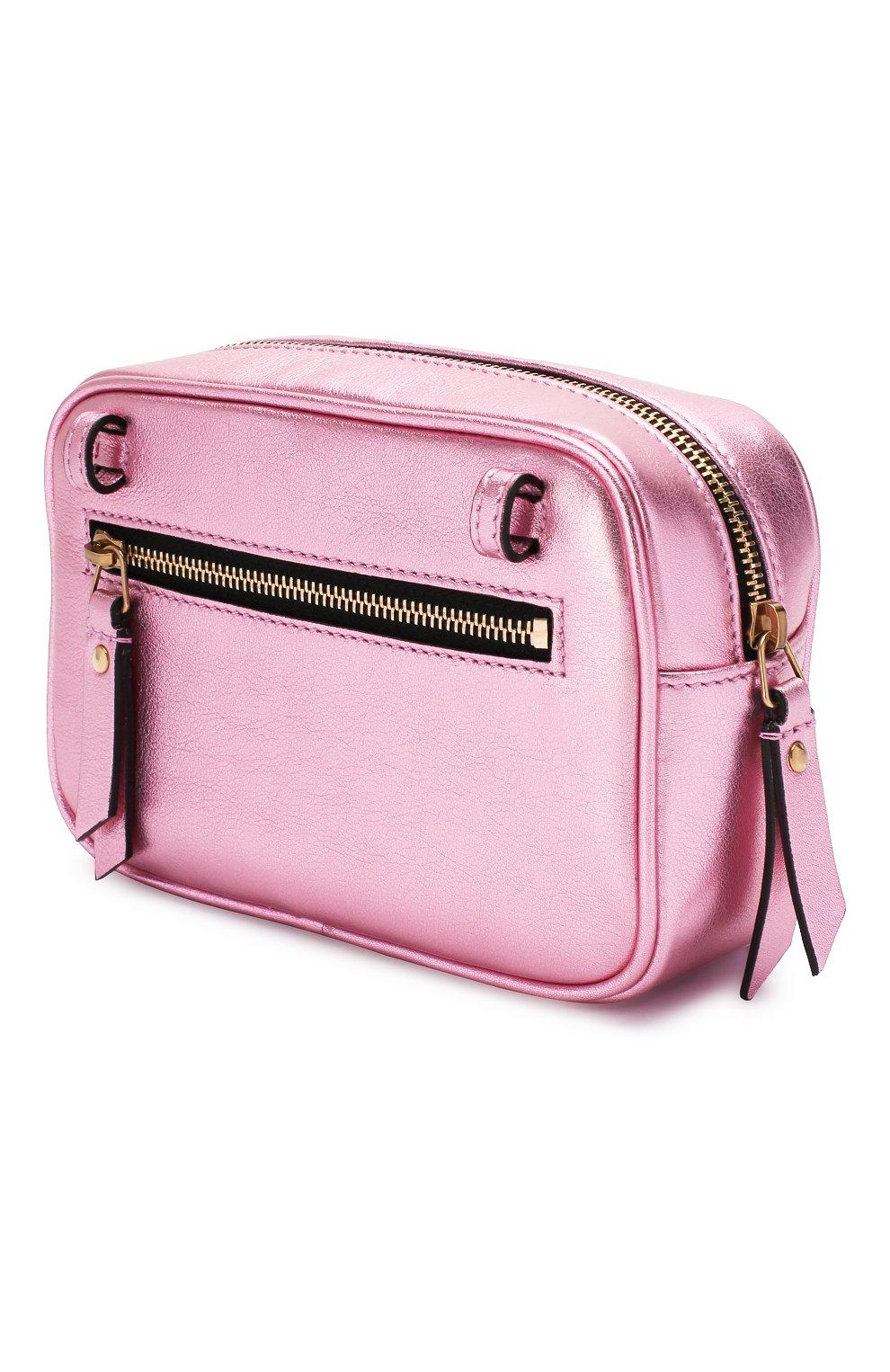Женская поясная сумка lou SAINT LAURENT розового цвета, арт. 534817/09E0W   Фото 3