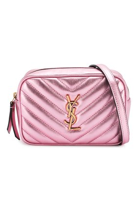 Женская поясная сумка lou SAINT LAURENT розового цвета, арт. 534817/09E0W   Фото 5