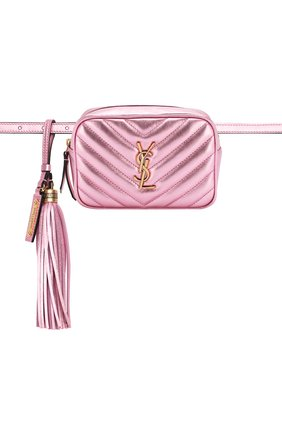Женская поясная сумка lou SAINT LAURENT розового цвета, арт. 534817/09E0W   Фото 6
