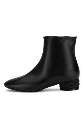 Женские кожаные ботильоны CASADEI черного цвета, арт. 1Q931N0301C02389000 | Фото 3