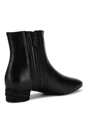 Женские кожаные ботильоны CASADEI черного цвета, арт. 1Q931N0301C02389000 | Фото 4