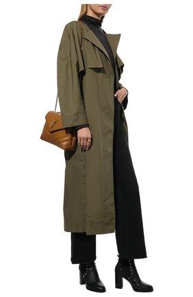 Женские кожаные ботильоны valentino garavani rockstud VALENTINO черного цвета, арт. SW2S0I94/VSL | Фото 2