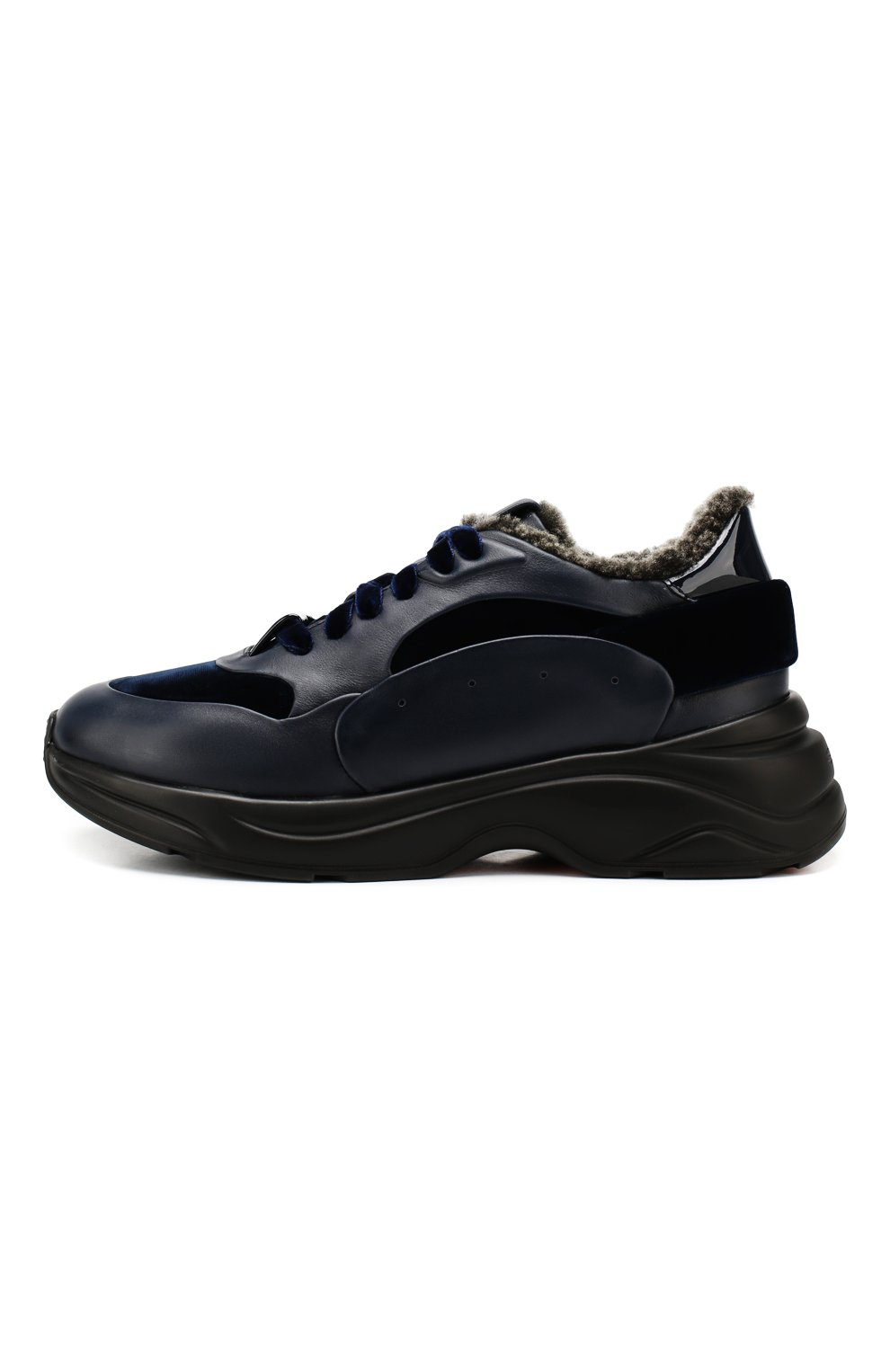 Комбинированные кроссовки   Фото №3