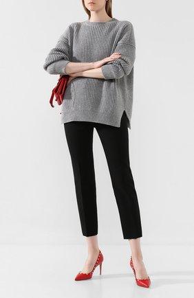 Женская кожаные туфли valentino garavani rockstud VALENTINO красного цвета, арт. SW0S0A04/VCE | Фото 2