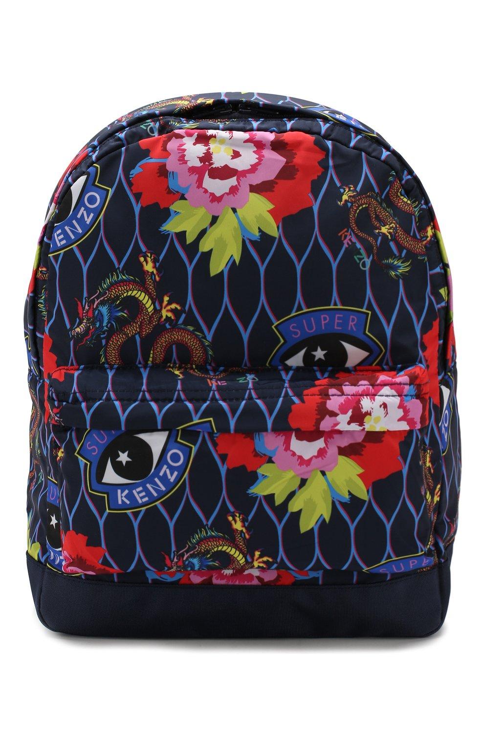 Детская рюкзак KENZO разноцветного цвета, арт. KP95018 | Фото 1