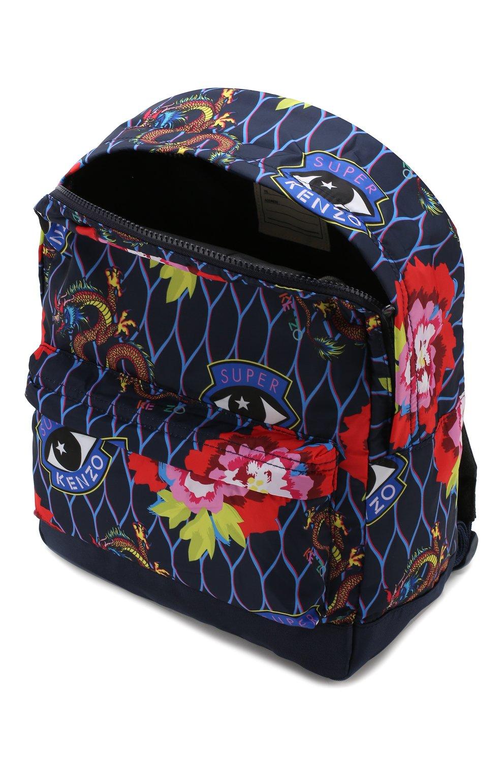Детская рюкзак KENZO разноцветного цвета, арт. KP95018 | Фото 3
