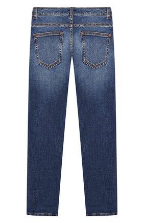 Детские джинсы BALMAIN синего цвета, арт. 6L6570/LA820/12-16   Фото 2