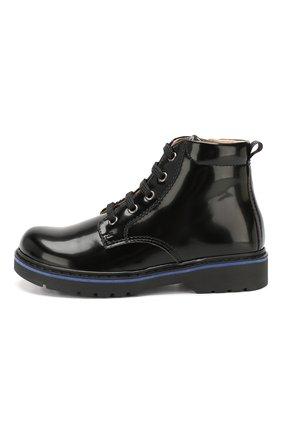 Детские ботинки WALKEY черного цвета, арт. Y1B4-40460-0154/25-29 | Фото 2