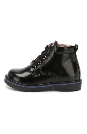 Детские ботинки WALKEY черного цвета, арт. Y1B4-40460-0154/19-24 | Фото 2