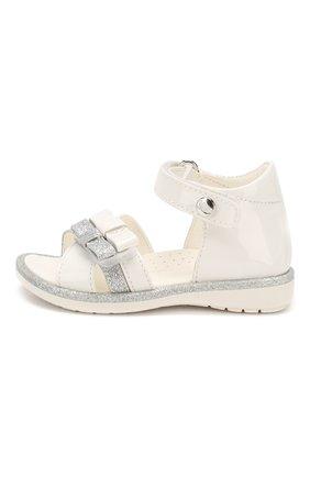 Детские кожаные босоножки WALKEY белого цвета, арт. Y1A2-40364-0245 | Фото 2