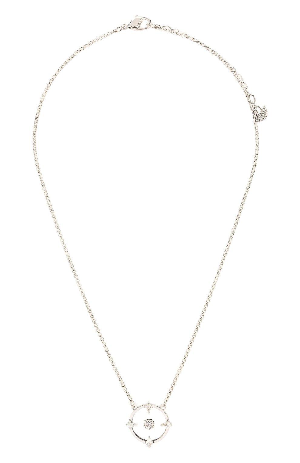 Женское ожерелье north SWAROVSKI серебряного цвета, арт. 5497232   Фото 1