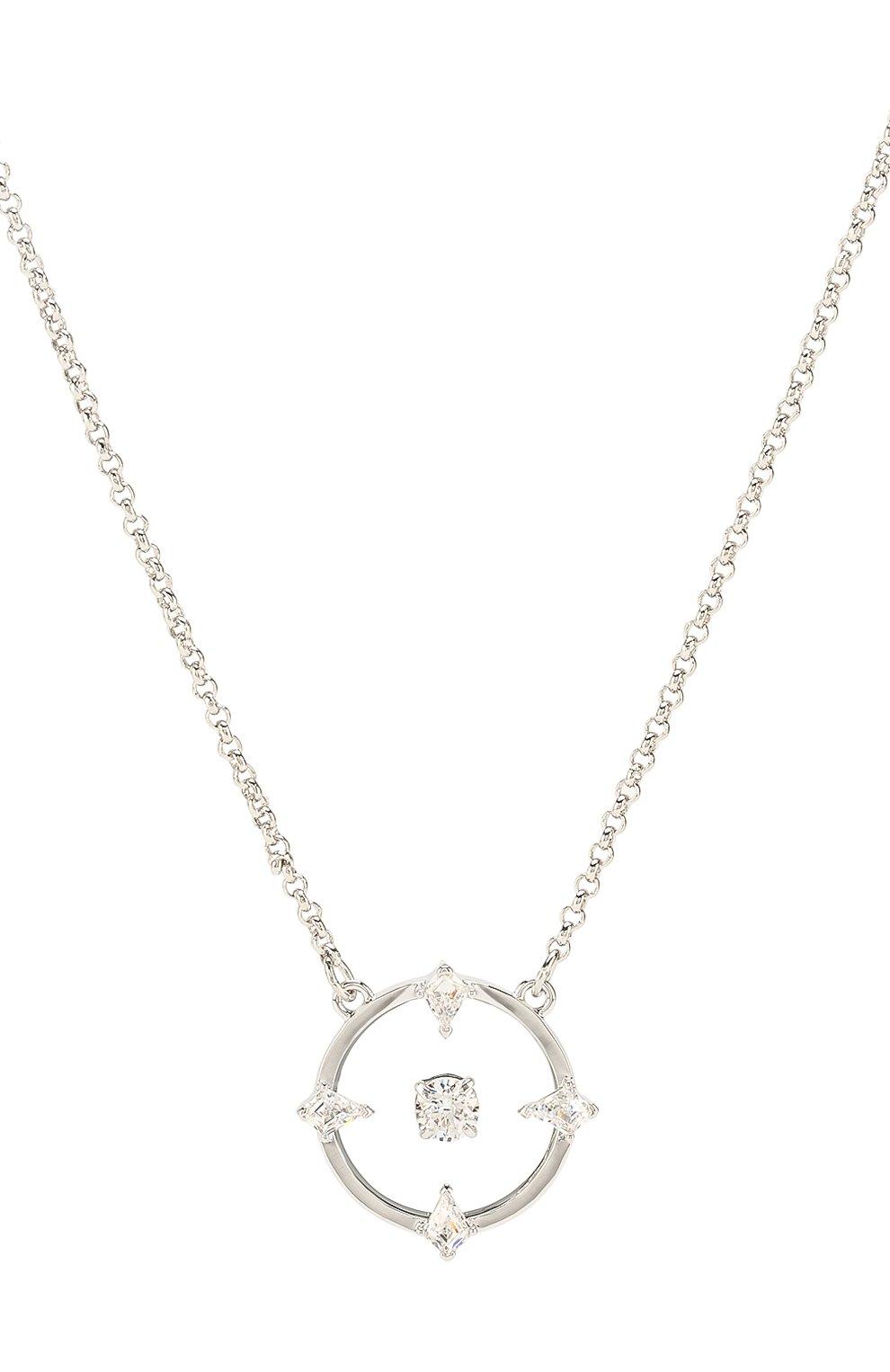 Женское ожерелье north SWAROVSKI серебряного цвета, арт. 5497232   Фото 2