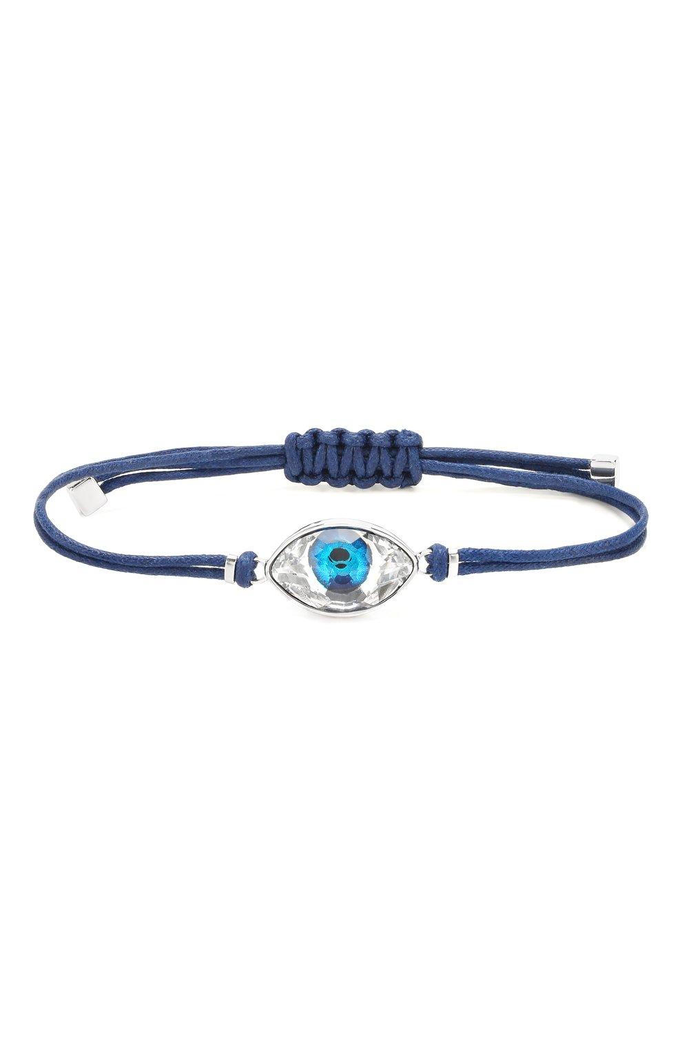 Женский браслет evil eye  SWAROVSKI синего цвета, арт. 5506865   Фото 1