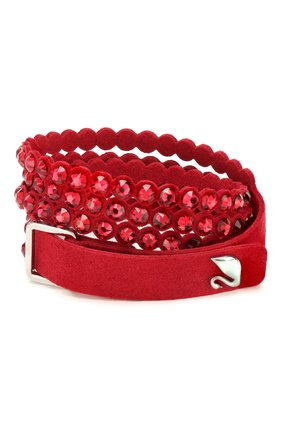 Женский браслет slake SWAROVSKI красного цвета, арт. 5511701 | Фото 2