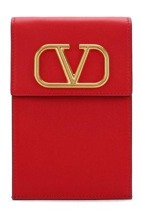 Мужского кожаный чехол для iphone valentino garavani VALENTINO красного цвета, арт. SW2P0S45/ZXL   Фото 1