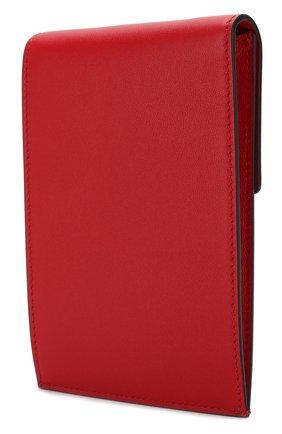 Мужского кожаный чехол для iphone valentino garavani VALENTINO красного цвета, арт. SW2P0S45/ZXL   Фото 2