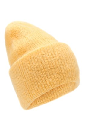 Женская шапка TAK.ORI желтого цвета, арт. HTK50027WM050AW19 | Фото 1
