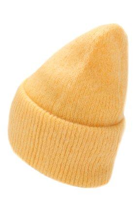 Женская шапка TAK.ORI желтого цвета, арт. HTK50027WM050AW19 | Фото 2
