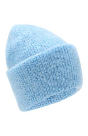 Женская шапка TAK.ORI голубого цвета, арт. HTK50027WM050AW19 | Фото 1