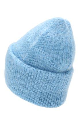 Женская шапка TAK.ORI голубого цвета, арт. HTK50027WM050AW19 | Фото 2