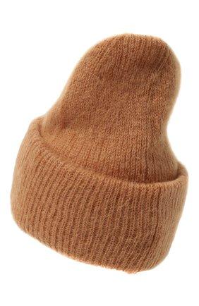 Женская шапка TAK.ORI бежевого цвета, арт. HTK50027WM050AW19 | Фото 3 (Материал: Текстиль, Шерсть, Синтетический материал; Статус проверки: Проверено, Проверена категория)