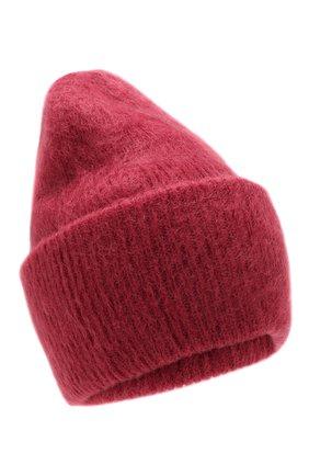 Женский шапка TAK.ORI бордового цвета, арт. HTK50027WM050AW19 | Фото 1