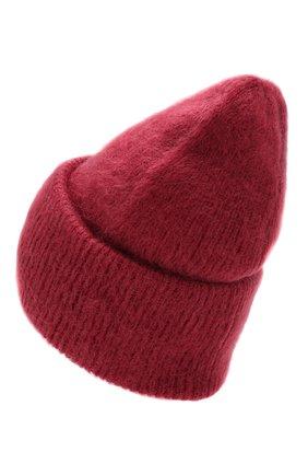 Женский шапка TAK.ORI бордового цвета, арт. HTK50027WM050AW19 | Фото 2