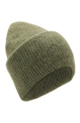 Женская шапка TAK.ORI хаки цвета, арт. HTK50027WM050AW19 | Фото 1