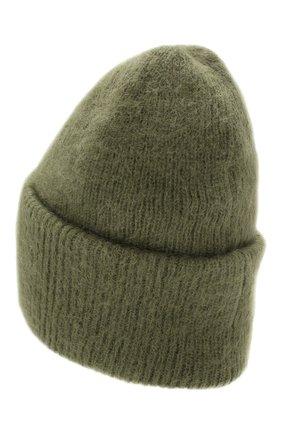 Женская шапка TAK.ORI хаки цвета, арт. HTK50027WM050AW19 | Фото 2