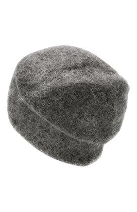 Женская шапка TAK.ORI серого цвета, арт. HTK50022WM050AW19 | Фото 2