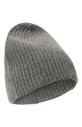 Женская шапка из смеси шерсти и кашемира TAK.ORI серого цвета, арт. HTK50021WC030AW19 | Фото 1