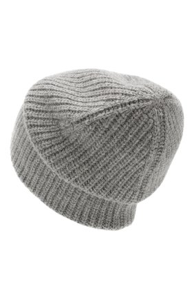 Женская шапка из смеси шерсти и кашемира TAK.ORI серого цвета, арт. HTK50021WC030AW19 | Фото 2