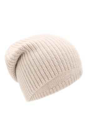 Женская шапка из смеси шерсти и кашемира TAK.ORI бежевого цвета, арт. HTK50021WC030AW19 | Фото 1
