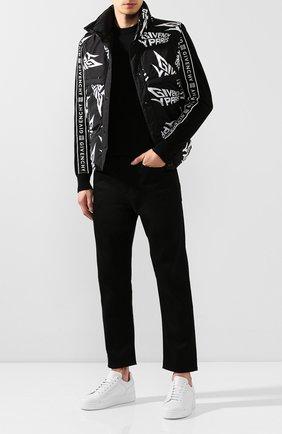 Мужской шерстяной джемпер GIVENCHY черного цвета, арт. BM909V404X | Фото 2