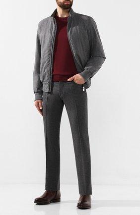 Мужской шерстяные брюки JACOB COHEN темно-серого цвета, арт. J620 W00L B 06968-N/52 | Фото 2