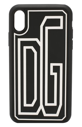 Мужской чехол для iphone xr DOLCE & GABBANA черно-белого цвета, арт. BP2514/AA615 | Фото 1