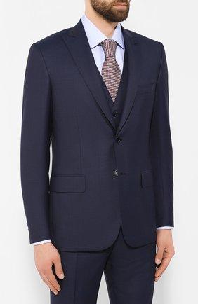 Мужской шерстяной костюм-тройка BRIONI темно-синего цвета, арт. RS0X0L/08A33/BRACCIAN0/G | Фото 2