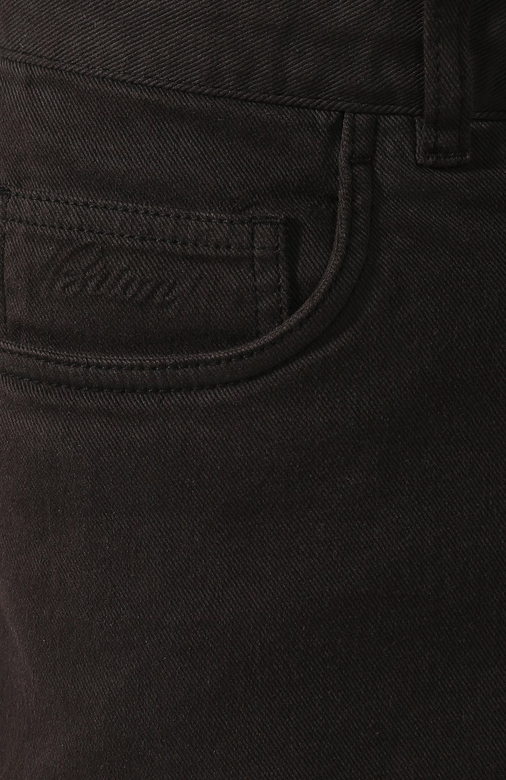 Мужские джинсы BRIONI темно-зеленого цвета, арт. SPNJ0M/08T01/STELVI0   Фото 5